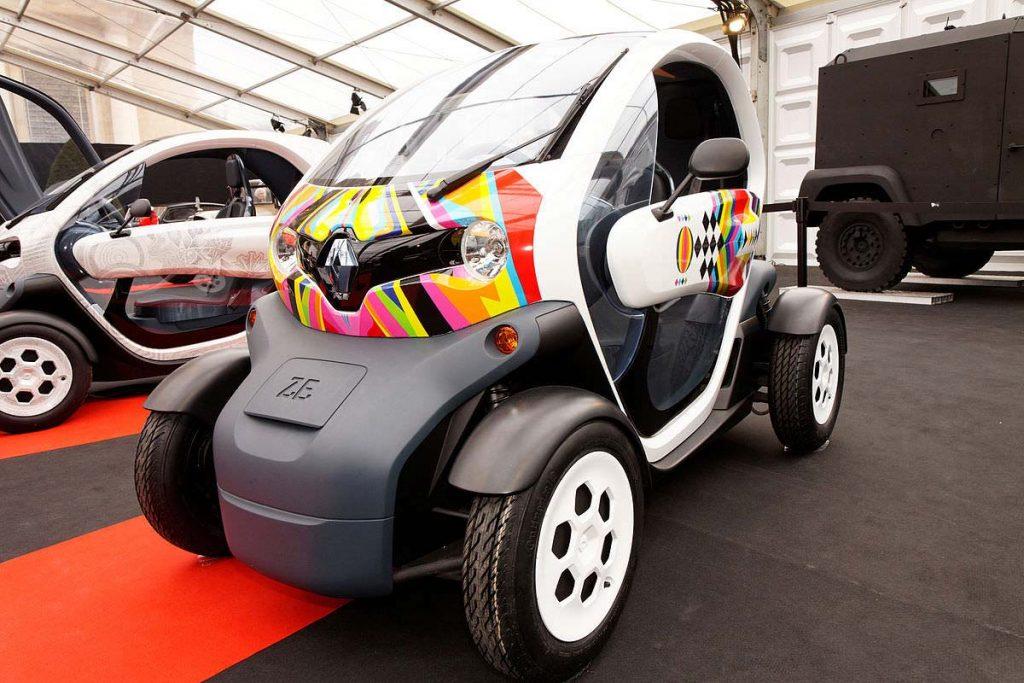 Renault Twizy fiyatları - Mini elektrikli araba - Renault elektrikli araba fiyatları