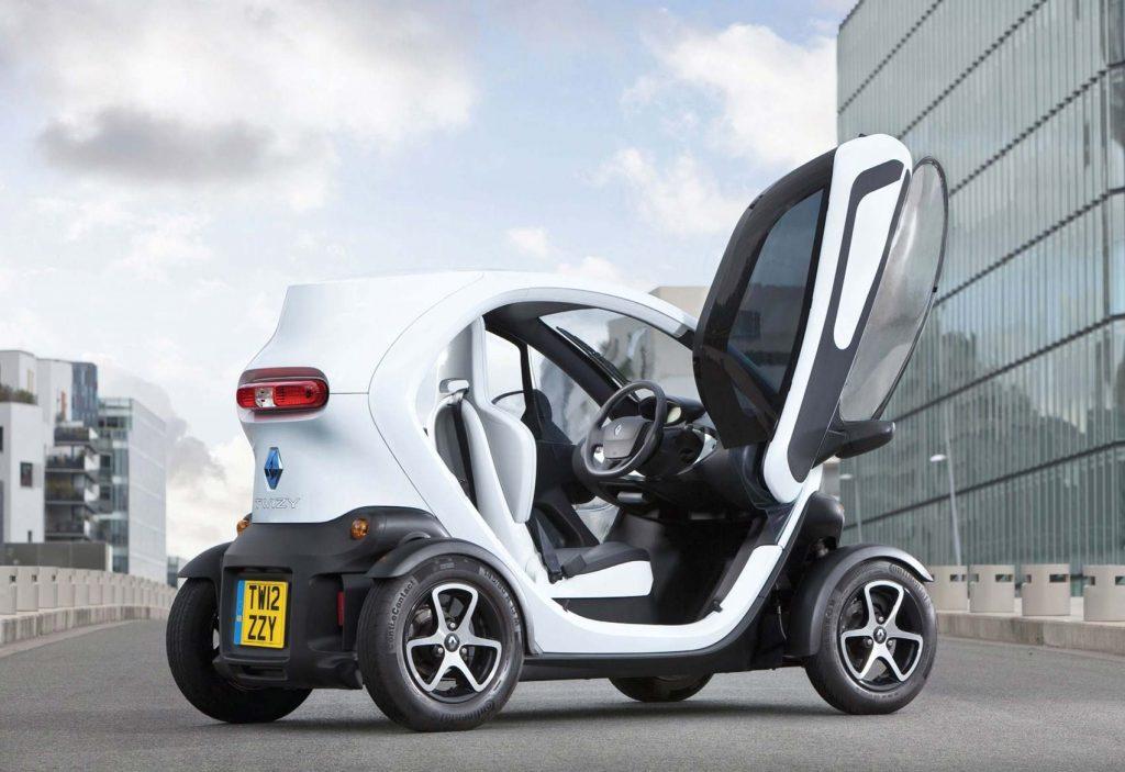 Renault Twizy 2018 - Mini elektrikli araba - Renault elektrikli araba fiyatları