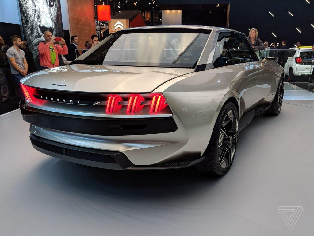 Peugeot e-legend - peugeot elektrikli araba