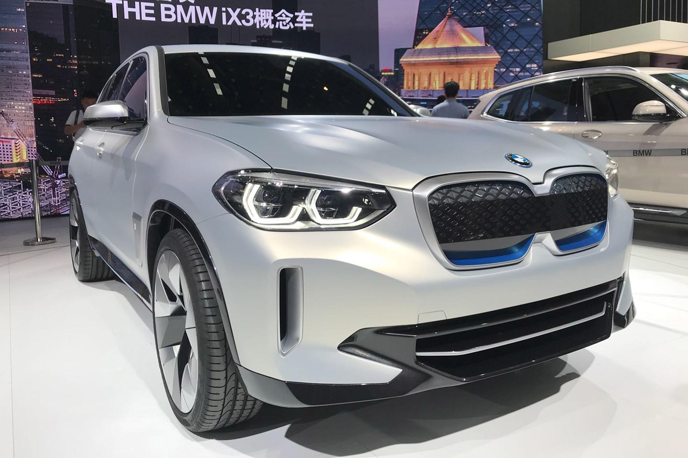 BMW iX3 Tam Elektrikli SUV 1