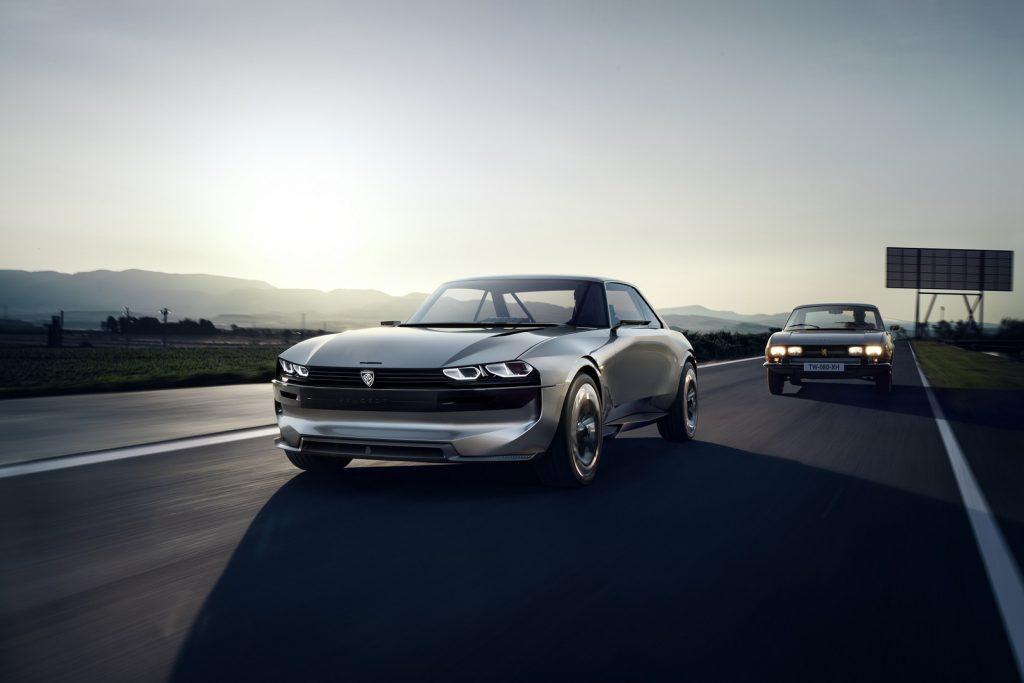 Peugeot e-legend - peugeot elektrikli otomobil