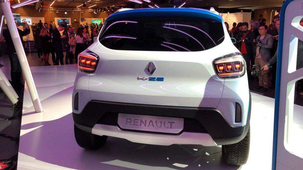 Renault KZE Elektrikli araba