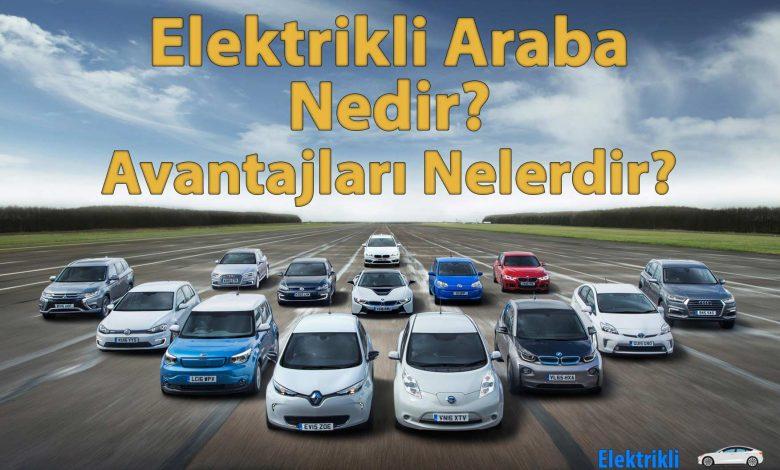 Elektrikli Araba Nedir? Nasıl Çalışır? 1