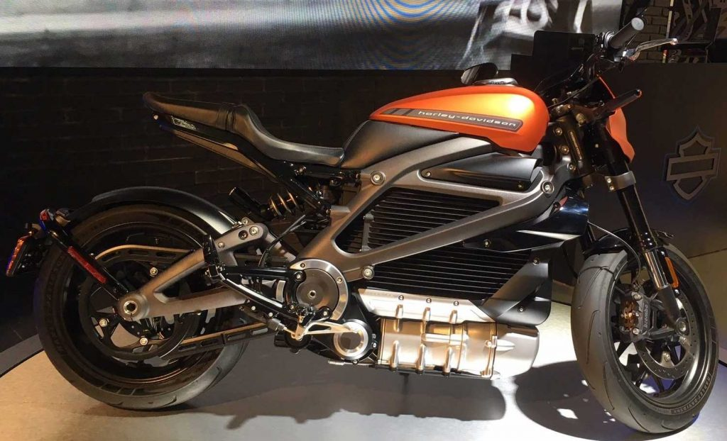 Harley Davidson LiveWire Elektrikli Motosiklet
