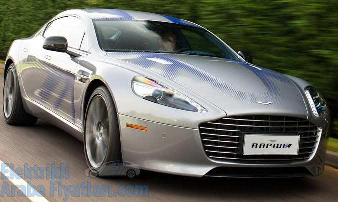 Aston Martin RapidE Elektrikli Fiyatı Türkiye