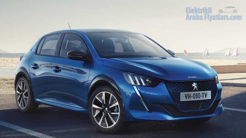 Peugeot e-208 Fiyatı ve Özellikleri 1