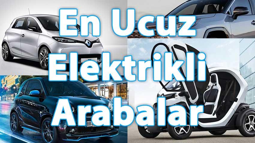 En Ucuz Elektrikli Arabalar 4
