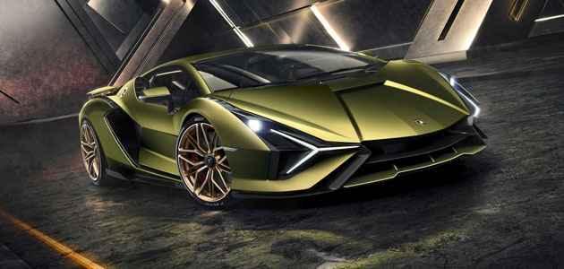 2020 Elektrikli Lamborghini Sian Fiyatı ve Özellikleri
