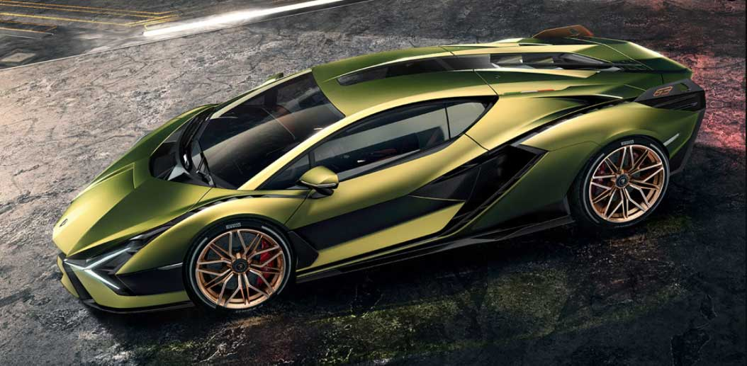 2020 Elektrikli Lamborghini Sian Fiyatı ve Özellikleri 1