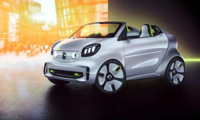 Smart 20'inci yılı Şerefine Elektrikli Otomobilini Çıkarttı