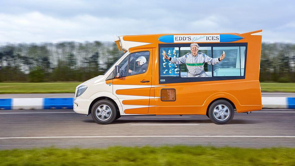 Elektrikli Dondurma Minibüsü