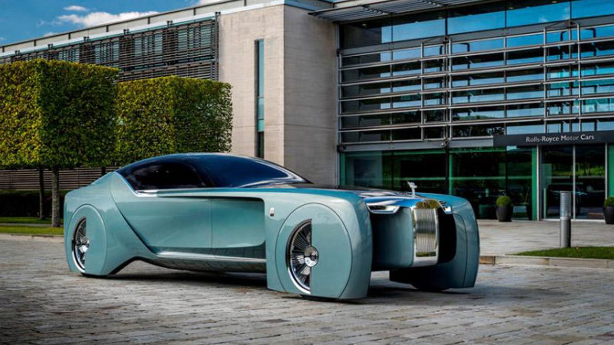 İlk Elektrikli Rolls Royce Silent Shadow
