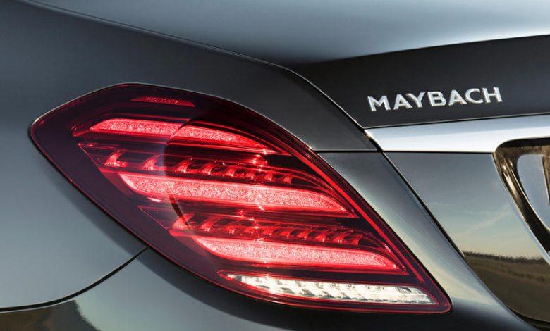 Elektrikli Mercedes Maybach