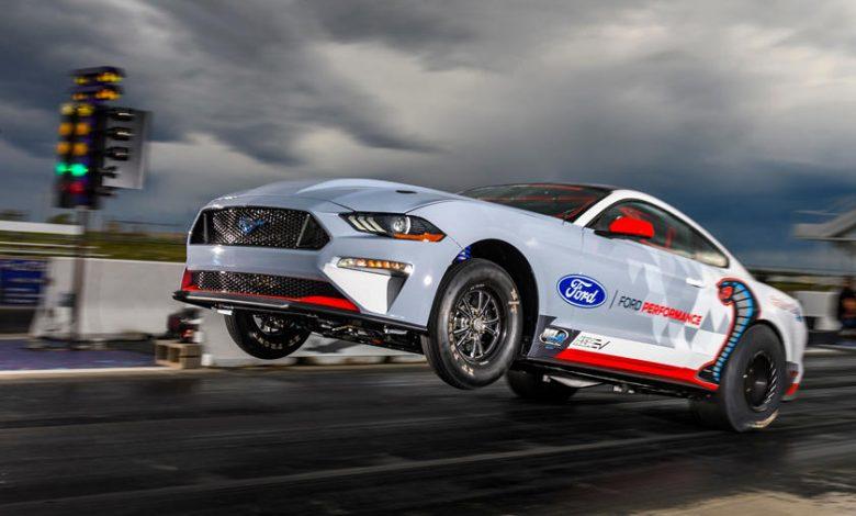 Ford 1.400 HP Elektrikli Mustang