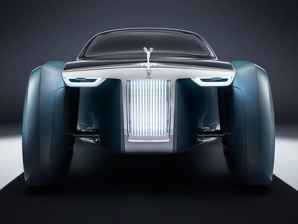 Elektrikli Rolls Royce