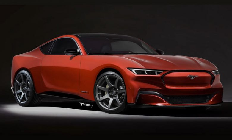 Tamamen Elektrikli 2022 Ford Mustang Mach-E