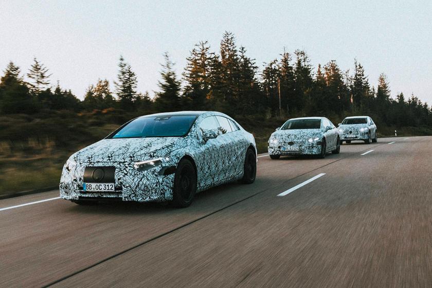 Mercedes Elektrikli Arabalar