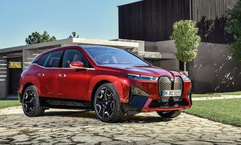 Elektrikli 2022 BMW iX SUVElektrikli 2022 BMW iX SUV
