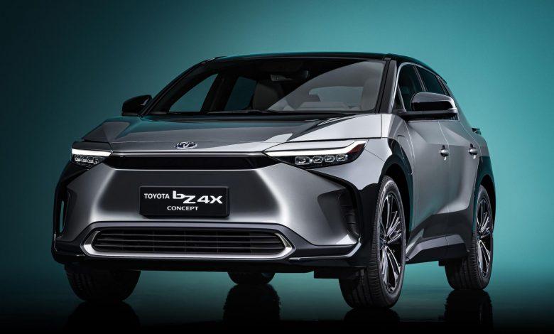 Elektrikli Toyota BZ4X